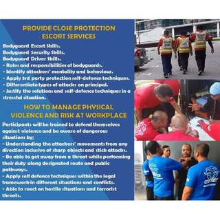 Self-defense and Bodyguard Course