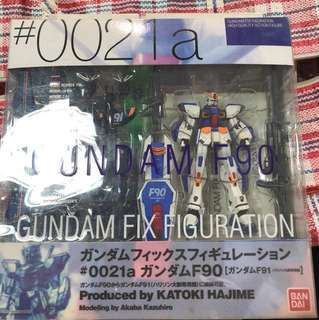 GFF Gundam F90 & Gundam F91(Captain Harrison)