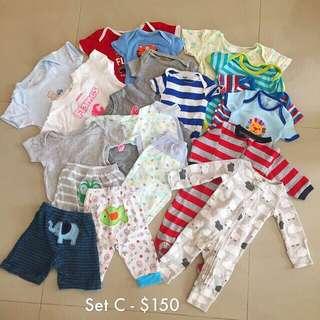 Baby Boy Cloths Bundle (0-3 Mths)