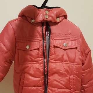 H&B 小童 型格有帽外套 風褸 jacket