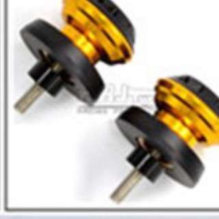 Yellow Gold Bike Side Knob Screw