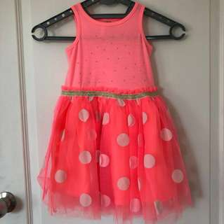 Polka dot tutu dress from cotton on kids (aged 2)