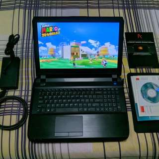 Aftershock S-15 gaming laptop