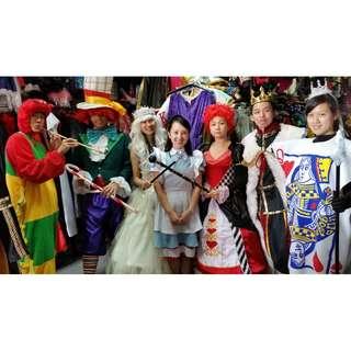 Alice in Wonderland Costume Rental