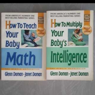 How to Teach Your Baby Math / How to Multiply Your Baby's Intelligence