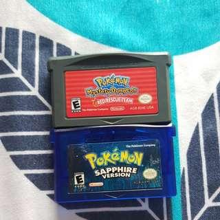 GBA Pokemon games