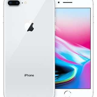 IPhone 8 Plus 64GB Silver 28/1/2018購入