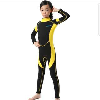 Swim Wear long sleeve thermal