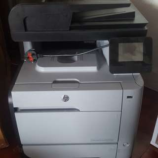 HP M476dn CF386a laser Jet pro Printer with Scanner, Copier and Fax打印機