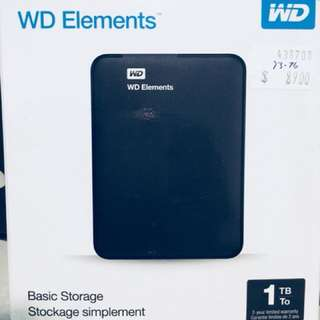 WD Portable HDD