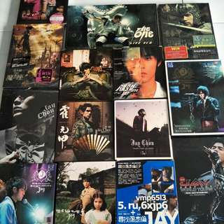 Jay Chou's albums and concert vcd