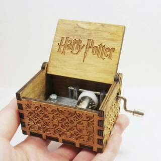 Harry Potter Wooden Engraved Music Box