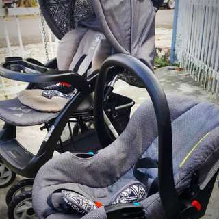 stroller and car seat polo