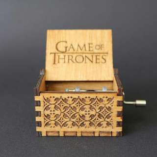 Game of Thrones Wooden Engraved Music Box