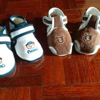 Two Pairs Baby Boy Shoes