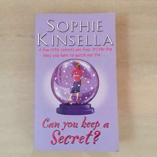 Can you keep a secret, Sophie Kinsella
