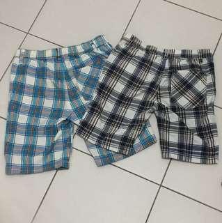 Checkers Quarter Pants Size 10