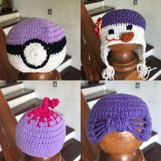 Newborn- toddler Baby friendly yearn crochet hat