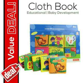 Baby cloth books