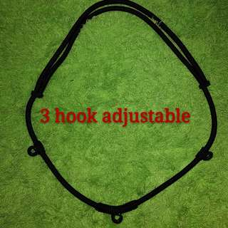 3 Hook Rope Amulet Necklace