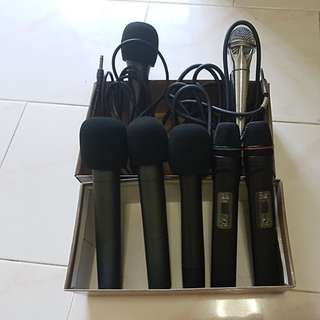 MICROPHONE SET OF 7