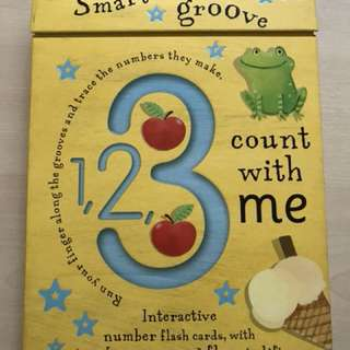 Smart groove number flash cards