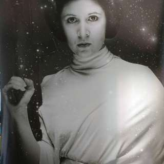 BN Star Wars poster - Princess Leia (Carrie Fisher) 61x91cm