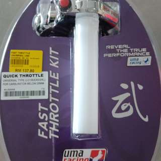Fast throttle UMA RACING