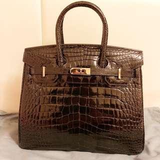 鱷魚皮手袋 Hermès Birkin 款