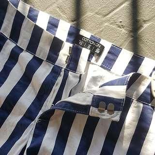 Cotton On Stripes Shorts