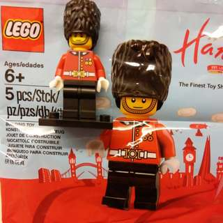 Lego 御林軍 人仔 Hamleys minifigure