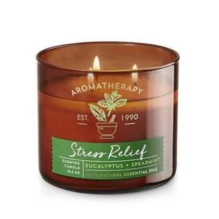 Bath and Body Works Aromatherapy STRESS RELIEF
