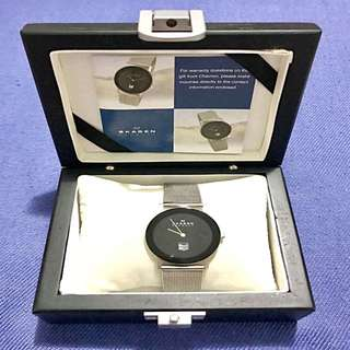 Preloved Auth Skagen Denmark Steel Women's Wristwatch
