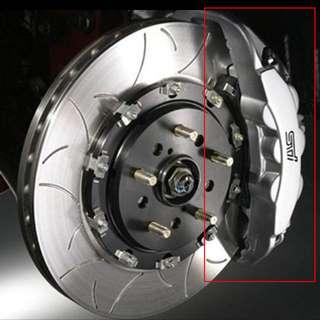 Subaru Wrx Sti S207 Upgraded 6pots Front Brake Calipers ONLY