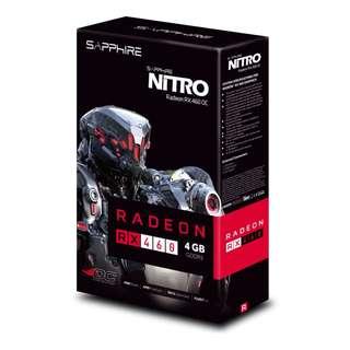 Sapphire RX460 4GB OC Nitro Gaming Graphics card. Brand New