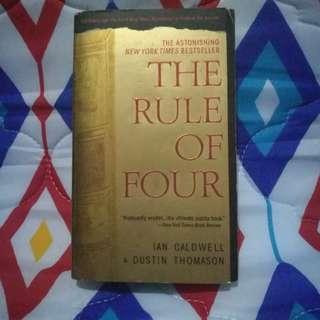 The Rule of Four by Ian Caldwell & David Thomason