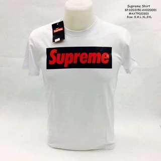 Supreme shirt size : S M L XL 2XL