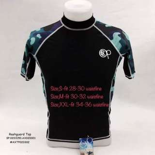 Rashguard top (sizes are on the pictures)