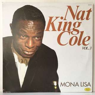 Nat King Cole ‎– Vol. 3 - Mona Lisa (1980 Italy Pressing - Vinyl is Mint)