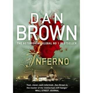 Dan Brown, Inferno (Paperback - GOOD CONDITION!)