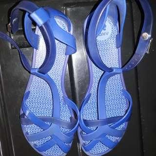 Zaxy  blue sandals