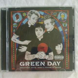 [Music Empire] Green Day - Greatest Hits: God's Favourite Band CD Album