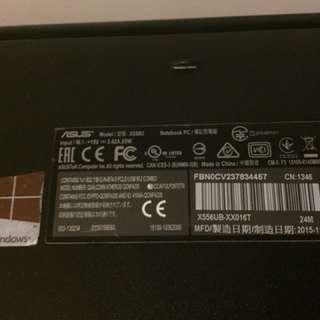 Asus X566U i7-6500U up to 3.1ghz 8GB RAM 4GB Nvidia 940m