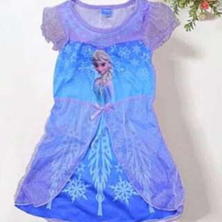 Instock Frozen dress brand new size Available For 6-8yrs old