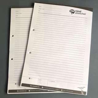 BN Mindstretcher foolscap paper