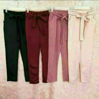 Candy pants/P.245/black only