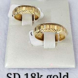 Wedding Ring 18k Saudi Gold