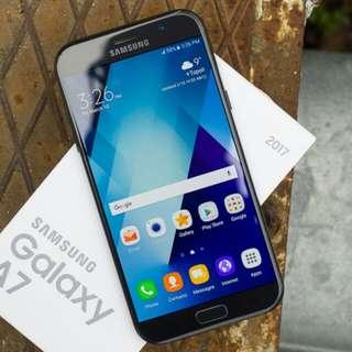 Kredit Dp 10% Samsung galaxy A7 (2017) Cicilan tanpa kartu kredit