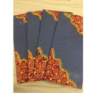 Indian Blue Envelope