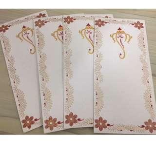 Indian White Envelope